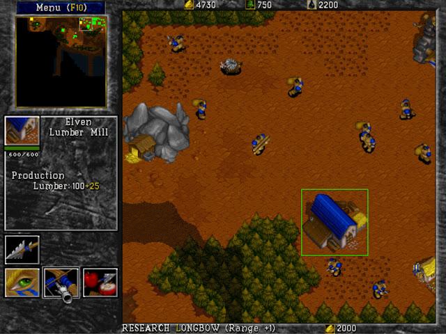Warcraft 2 Lumber Mill Screenshot