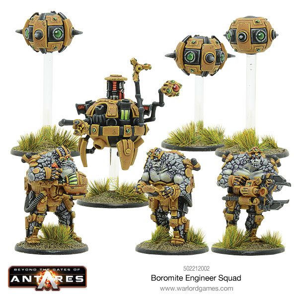 Warlord Games - Boromite Engineer Squad and Drones