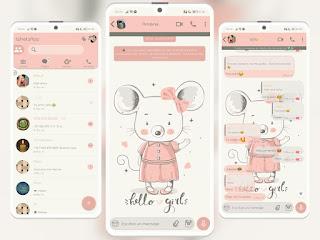 Hello Girls Theme For YOWhatsApp & KM WhatsApp By Ethel