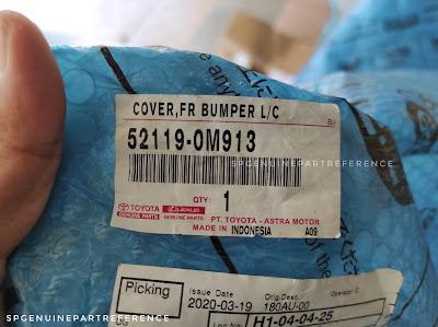 52119-0M913 label