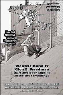 A Look Back: <br>DogTown & Z-Boys<br> Nitehawk Brooklyn Nov. 3rd