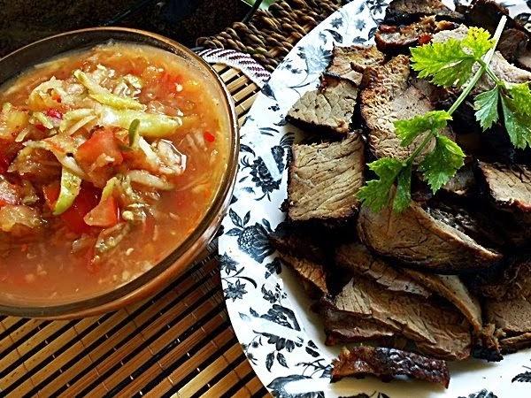 resepi daging bakar air asam hidup biar sedap resepi masakan Resepi Berasaskan Biskut Enak dan Mudah