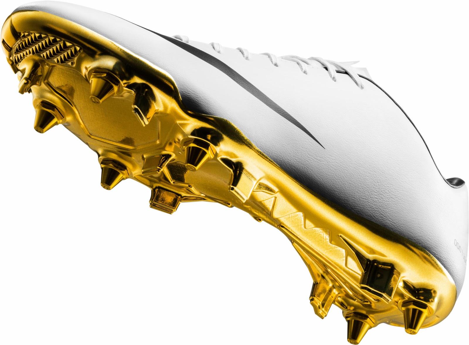 White Gold Nike Cristiano Ronaldo 2014 Special Edition