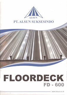 Floordeck,Bondeck Plat Cor lantai