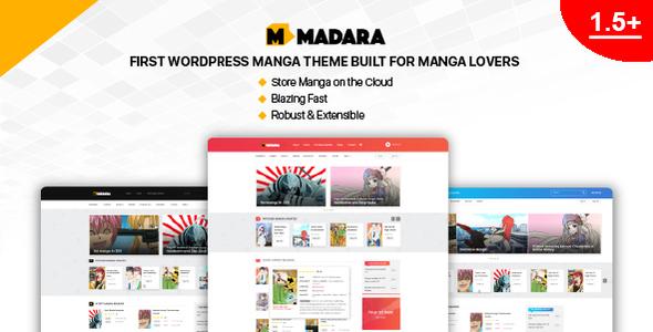 Madara Manga Responsive Wordpress Templates