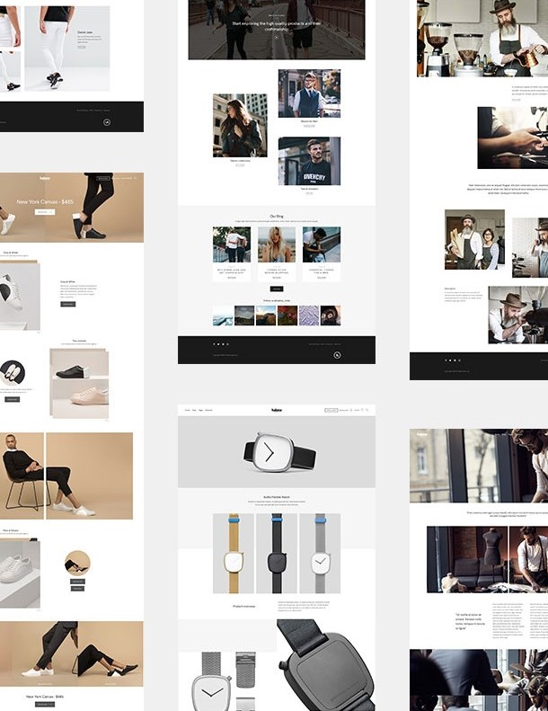 Halena  Minimal And  Modern eCommerce WordPress Theme