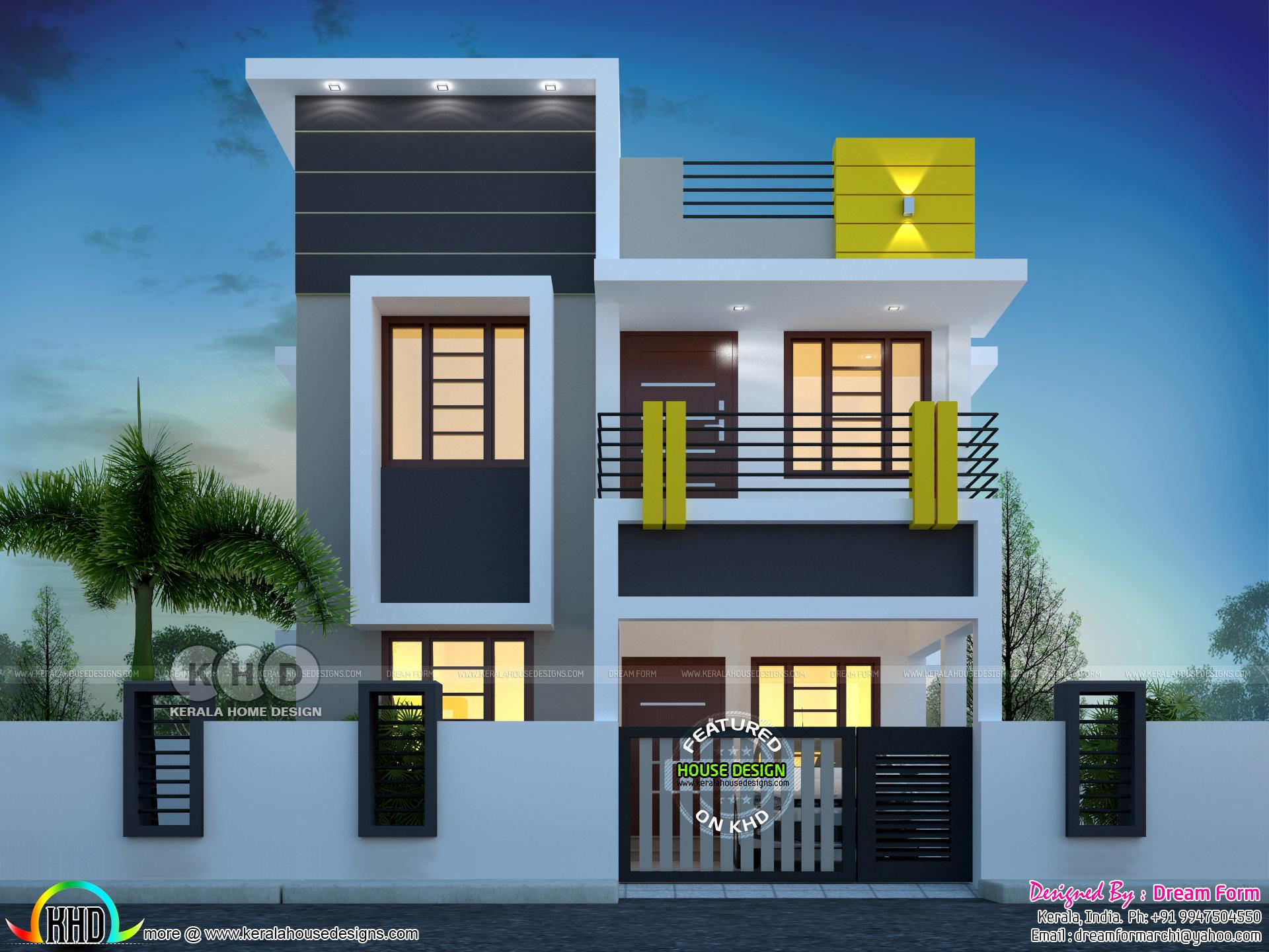 3 Bedroom 1400 Sq Ft Cute Budget Home Design Kerala Home