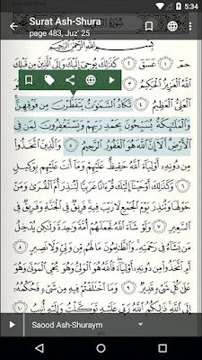 Aplikasi Al-Quran tebaik, Aplikasi Al-Quran dan terjemahan