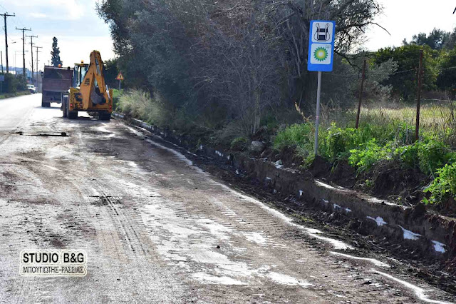 Καθαρισμός πρανών στον Δήμο Ναυπλιέων