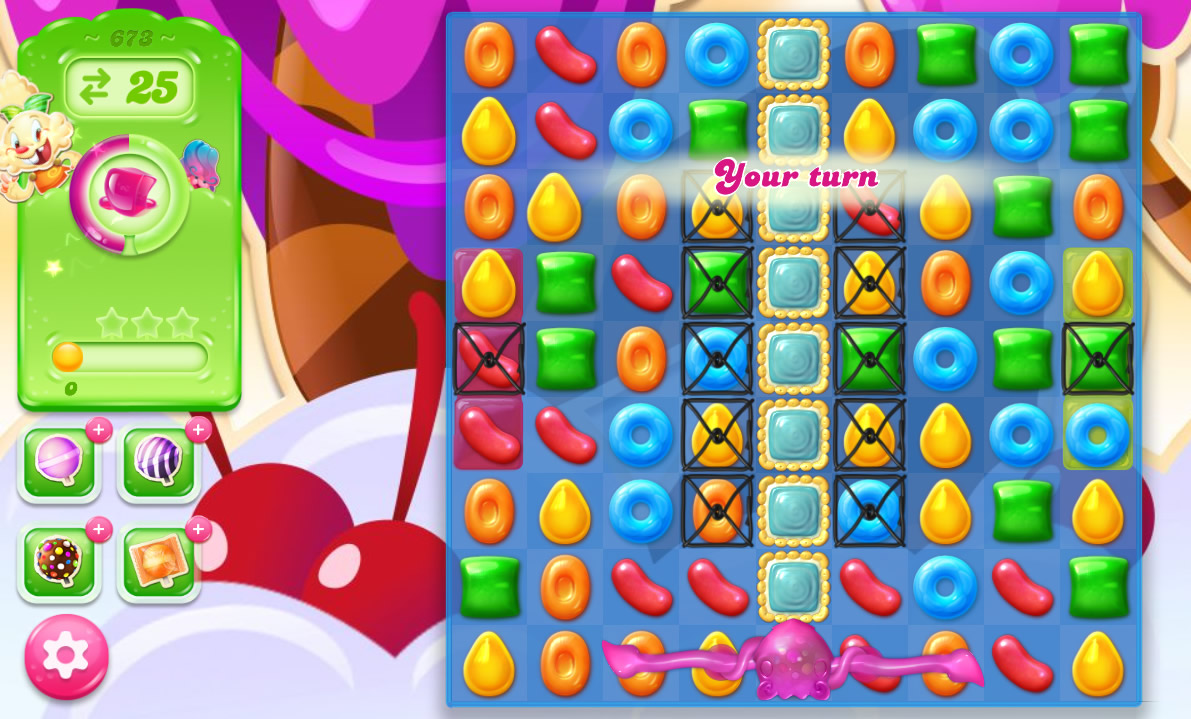 Candy Crush Jelly Saga level 673