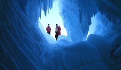 Kehidupan Asing Mungkin Berkembang di Gua-gua Antartika