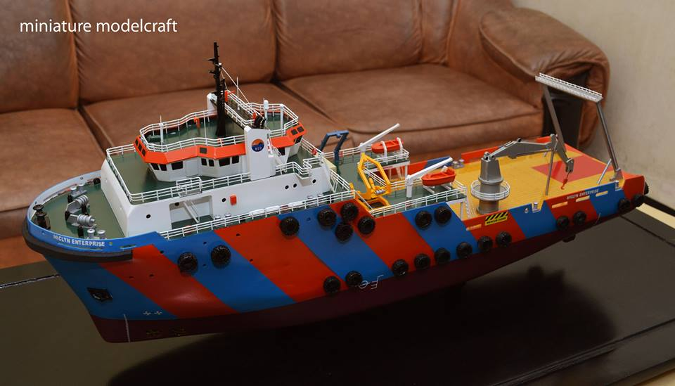 miniatur kapal miclyn enterprise meo group singapore planet kapal rumpun artwork indonesia