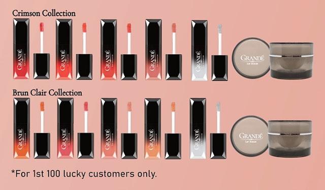GRANDÉ Lip Enhancer, Lip Maximizer, Lip Scrub, Grande Cosmetics, Grande Malaysia, SKH Premier, Dato' Suresh Kumar,  Hannaritha Singa, Beauty