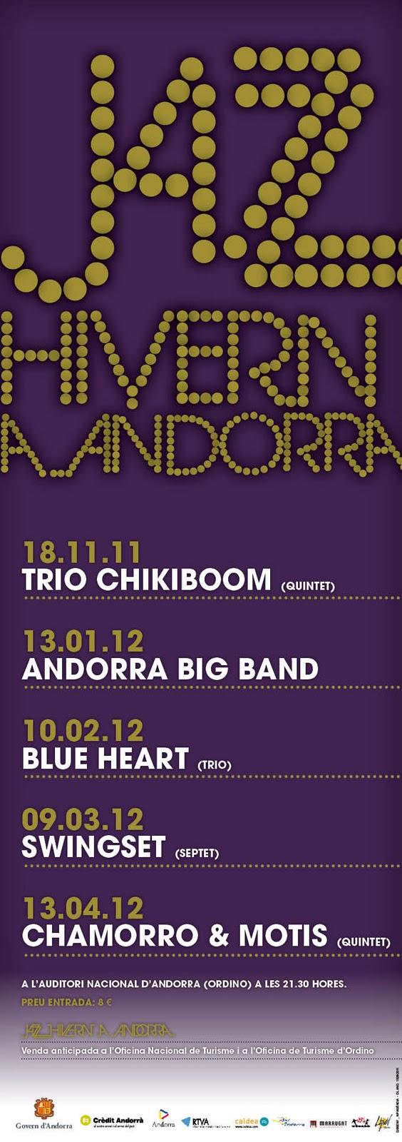 Andorra estrena el primer ciclo musical Jazzhivern
