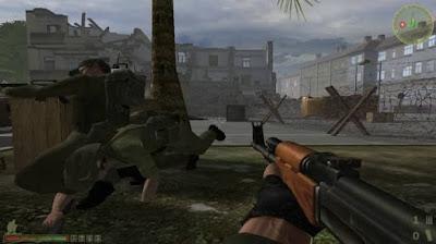 game petualangan perang dengan grafis HD yang canggih
