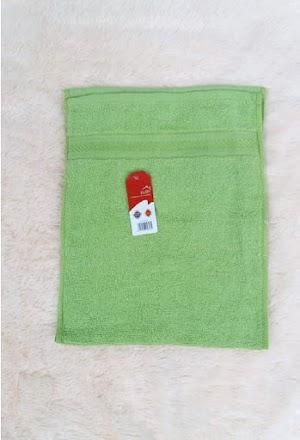 Handuk Mini Lembut Warnah Hijau