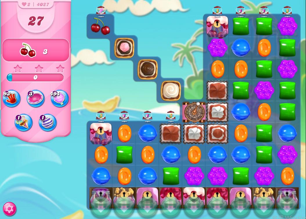Candy Crush Saga level 4027