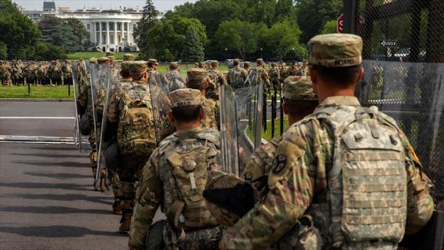 EEUU gasta $2,6 millones al día para la represión en Washington