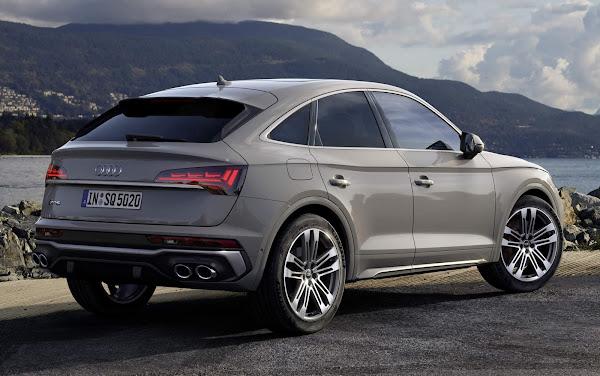 Audi SQ5 Sportback chega com motor 3.0 TDI de 341 cv