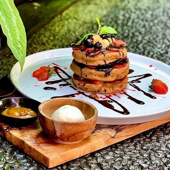 cake menu vida cafe baii