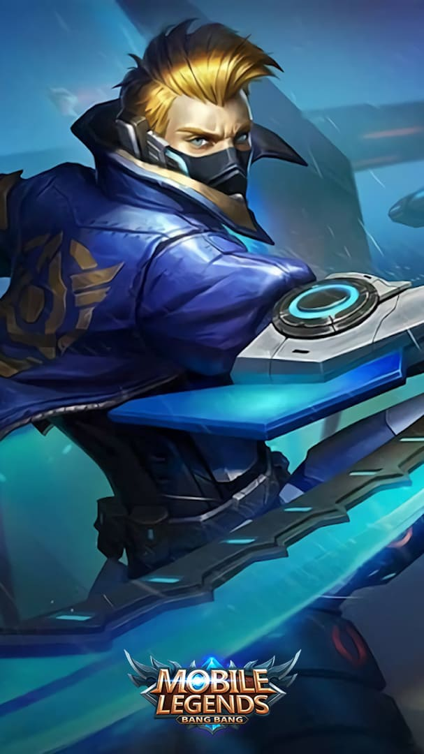 Wallpaper Hayabusa Future Enforcer Skin Mobile Legends HD for Android and iOS