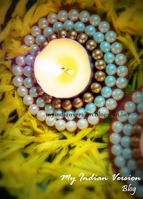 Diwali Decoration at My Home - Floating Diya