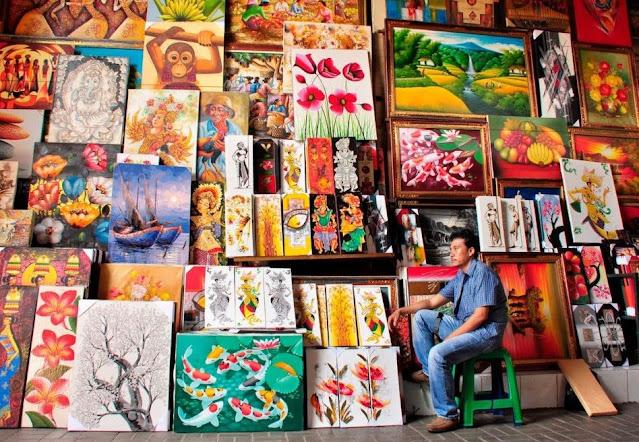 1. Pusan Souvenir Pasar Seni Sukawati