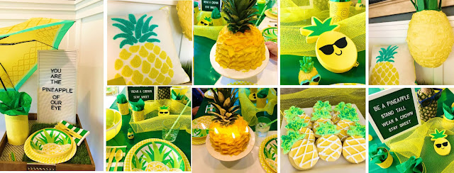 Pineapple party ideas, decor and gifts @michellepaigeblogs.com