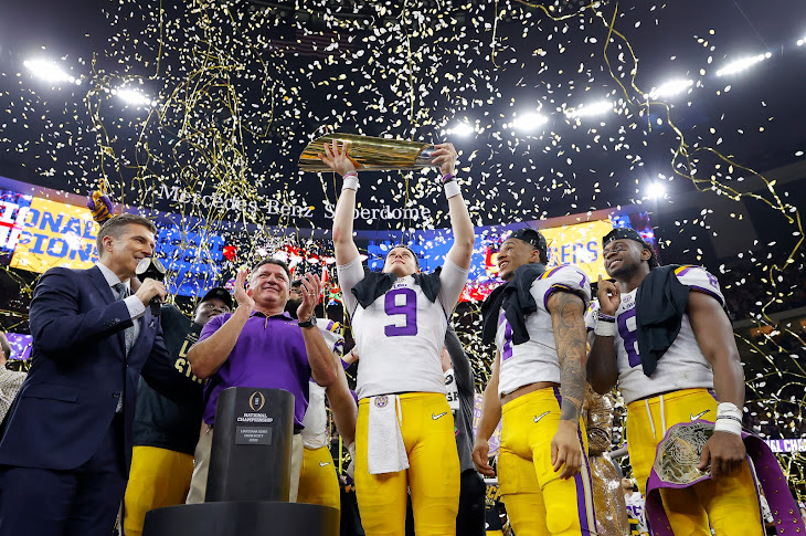 LSU Wins The National Title