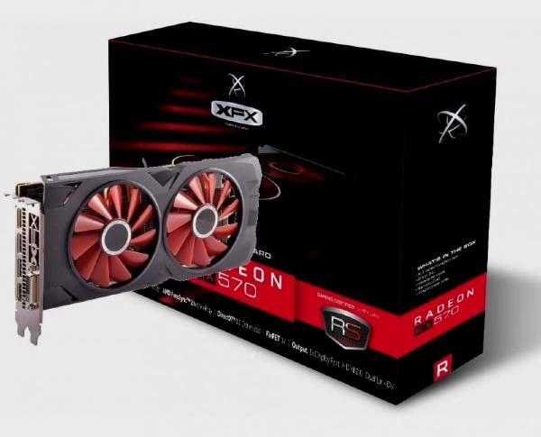 Graphics card: Radeon RX 570 8 GB