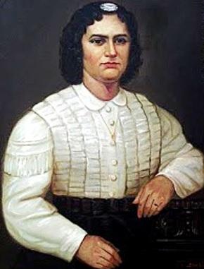 Pintura de Antonia Moreno de Cáceres a color