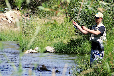 Fly Fishing the Weber River