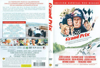 Carátula dvd: Grand Prix (1966)