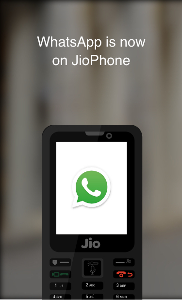 Jii phone me whatsapp