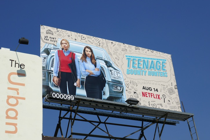 Teenage Bounty Hunters season 1 billboard