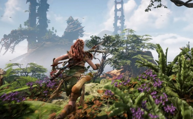 Horizon Forbidden West will have climbing like in Assassin's Creed games
