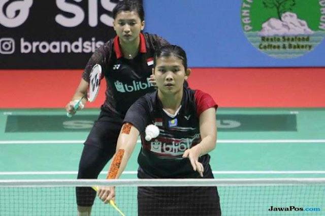 Yulfira/Jauza Tumbang, Seluruh Wakil Indonesia Rontok di Korea