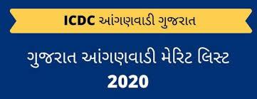 Gujarat Anganwadi Bharti 2020 Merit List Declared