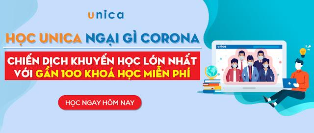 Khóa học Online ở Unica có tốt không ? Có nên học Online tại Unica không ?