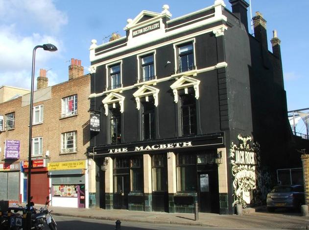The MacBeth of Hoxton, pub con musica dal vivo a londra