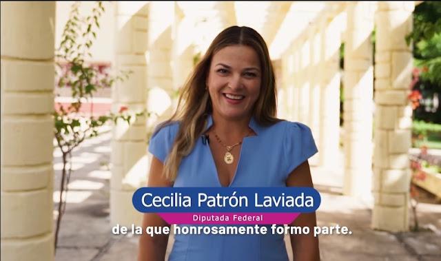 Rinde Cecilia Patrón su III Informe de resultados legislativos