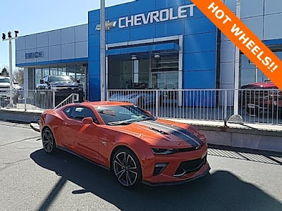 2018 Chevy Camaro for sale at Emich Chevrolet