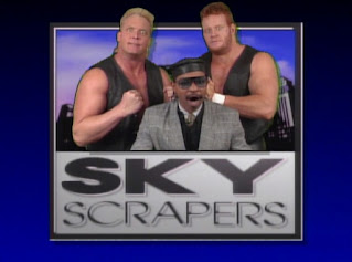 WCW Clash of the Champions X -  Teddy Long led The Skyscrapers into battle