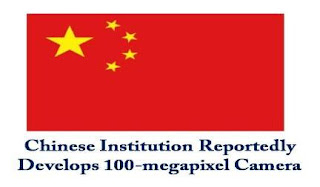 Chinese Institute of Optics and Electronics has successfully developed a 100-megapixel camera named IOE3-Kanban.