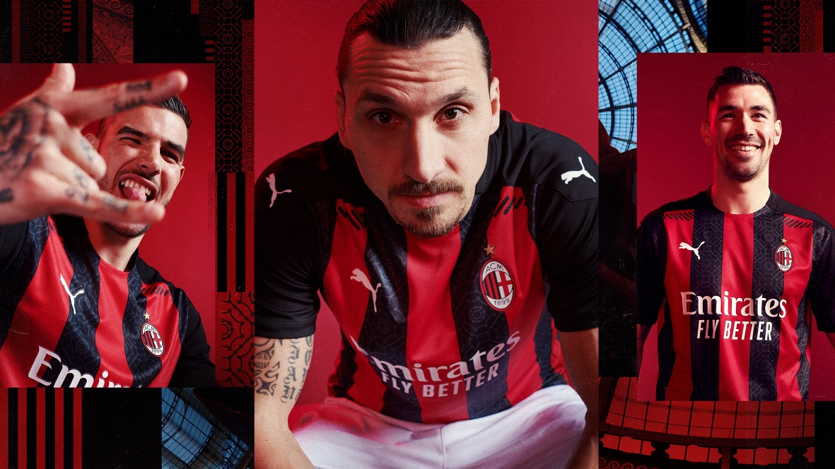 PUMA unveils the new AC Milan Home kit