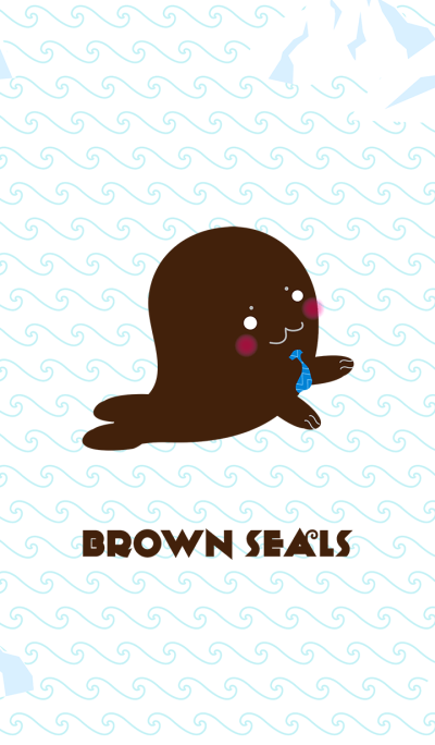 Brown seals