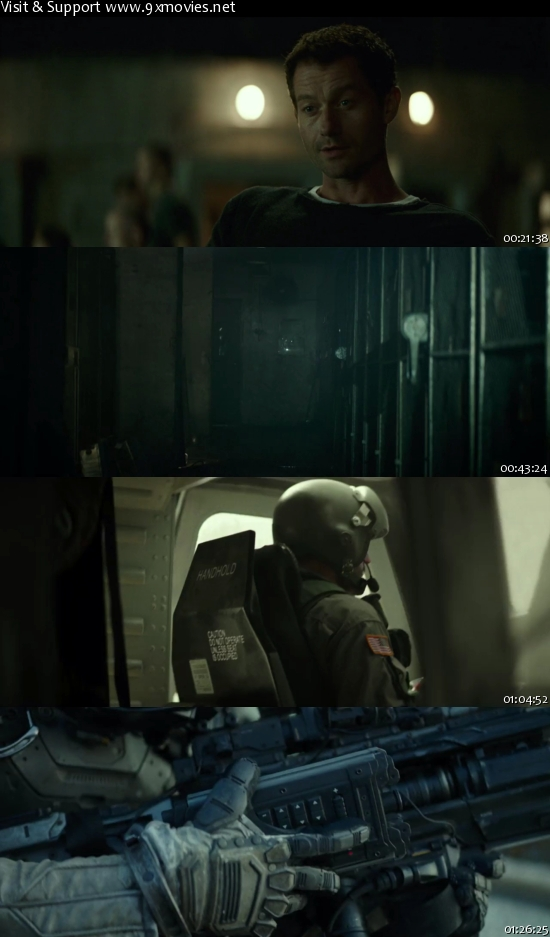 Spectral 2016 English 720p WEBRip