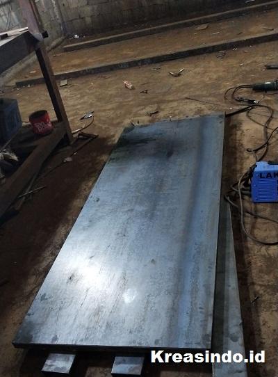 Pintu Fire Door pesanan PT Multazam Agro Abadi untuk di Jababeka Bekasi