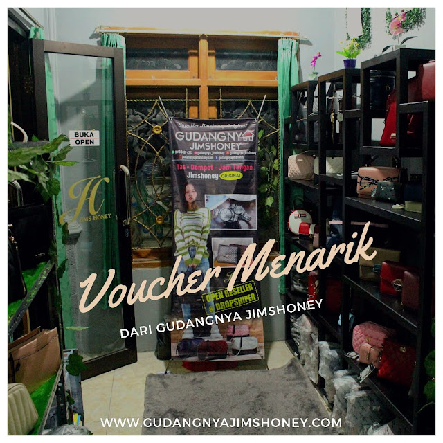 Voucher Gudangnya Jims Honey