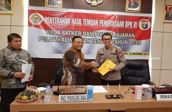 Irwasda Polda Kalteng Pimpin Taklimat Akhir Pemeriksaan BPK RI